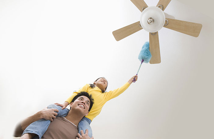 Does your ceiling fan looks cool while keeping you cool tips for cleaning the ceiling fans mozeypictures Images